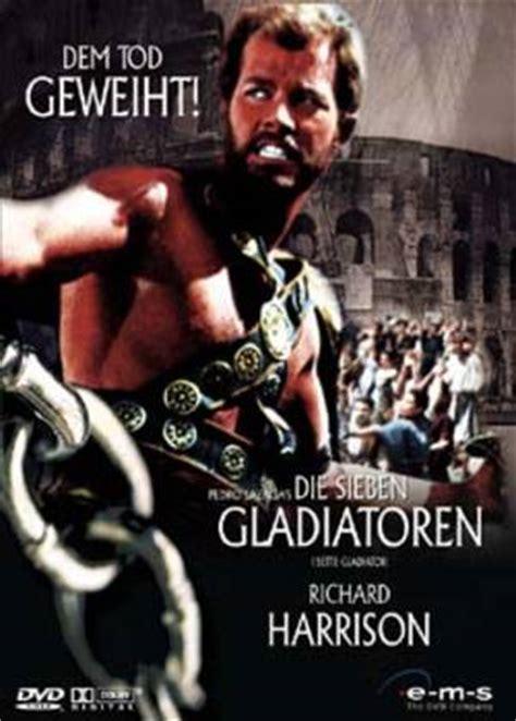 film gladiator darsteller die sieben gladiatoren film