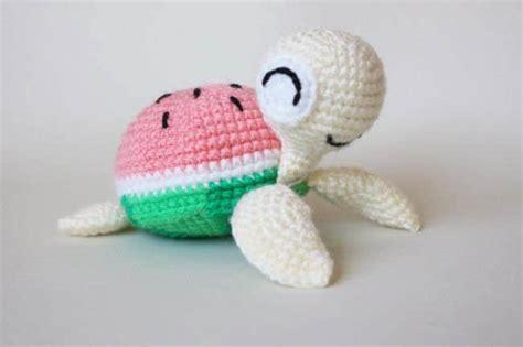 amigurumi pattern turtle watermelon turtles amigurumi patterns amigurumi today