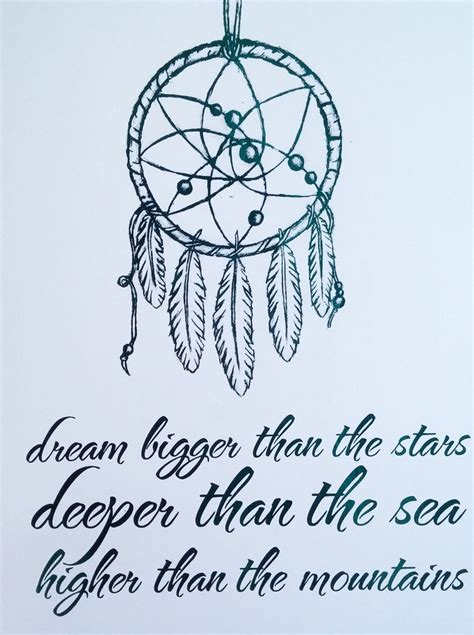 dream catcher tattoo sayings adorn your walls with this pretty foil print featuring a