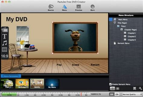 dvd menu templates free how to burn cut pro projects to dvd on mac