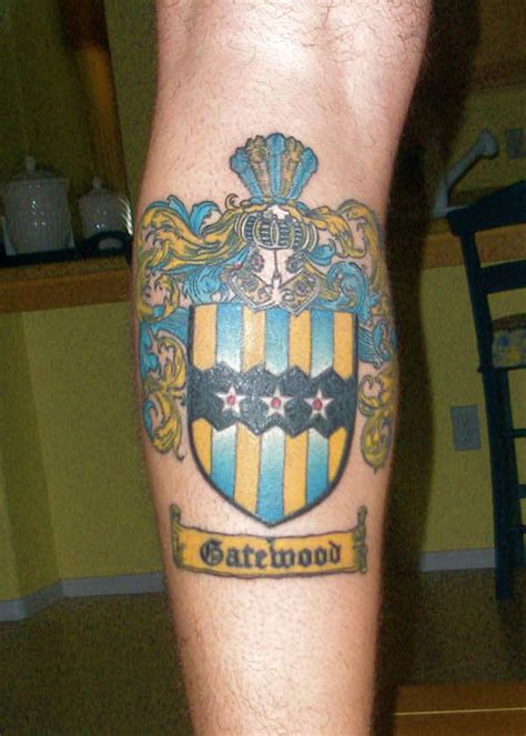 Coat Of Arms Tattoo Family Coat Of Arms Tattoos 2