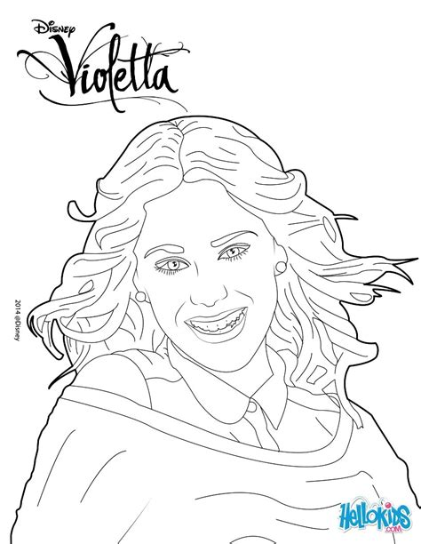 Printable Coloring Pages Violetta | violetta coloring pages printable coloring pages