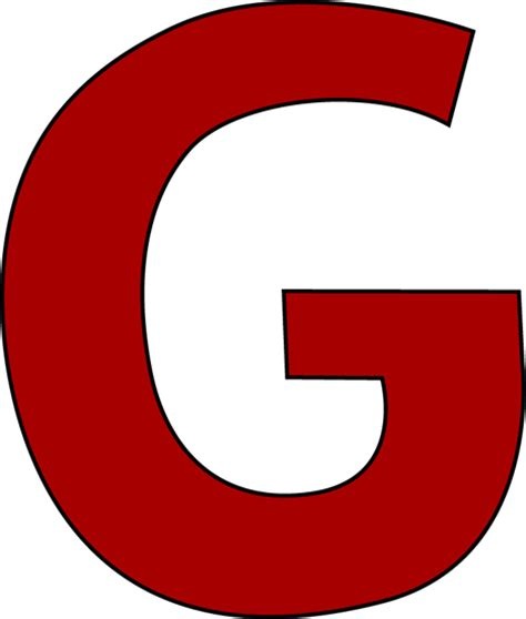 G Drawing Images by Letter G Clipart Clipart Suggest