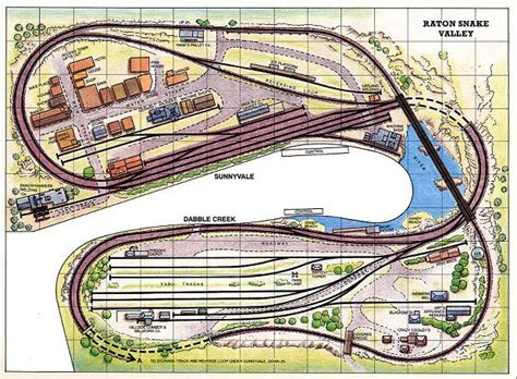 free railway layout design 125 best images about table top layouts on pinterest