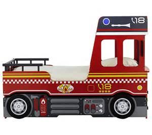 lit 90x190 camion pompier gigogne lits but