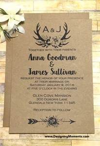 rustic wedding invitations templates 21 country wedding invitation templates free sle