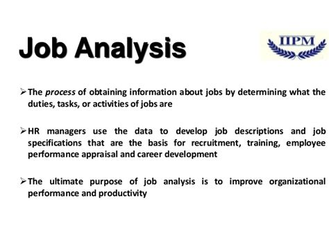 job design hrm definition what is job analysis and design in hrm home design ideas