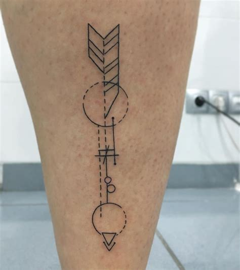 geometric arrow tattoo geometric arrowhead pictures to pin on