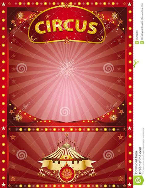 new year circus singapore greeting circus poster stock vector image 45272363
