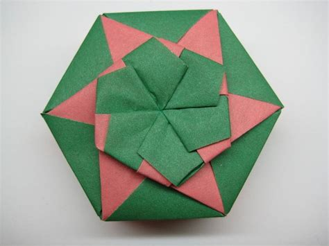 Origami Lid - origami box clover lid craft ideas paper