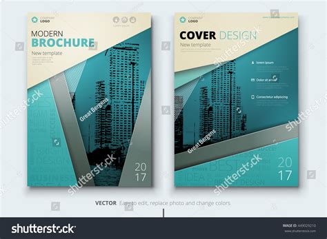 business catalog template brochure design corporate business template annual stock