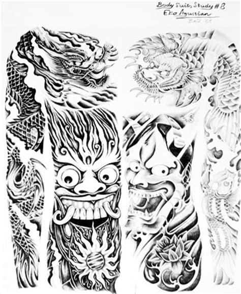 butch tattoo bali tattoo flash by eko agustiant bali thunder pinterest