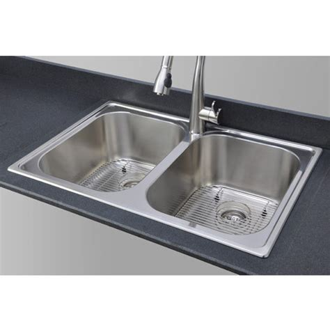 great kitchen sinks kitchen sinks great lakes series glt3322 99lg stainless