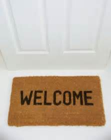 welcome mat council tenants banned from having welcome mats because they are health and safety trip