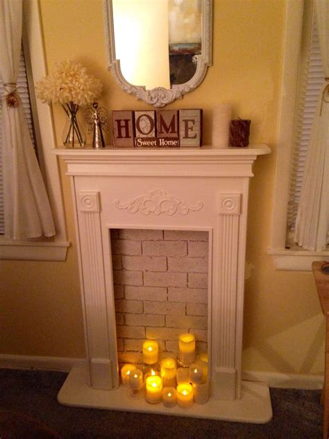 diy faux fireplace ideas 82 best images about faux fireplaces on