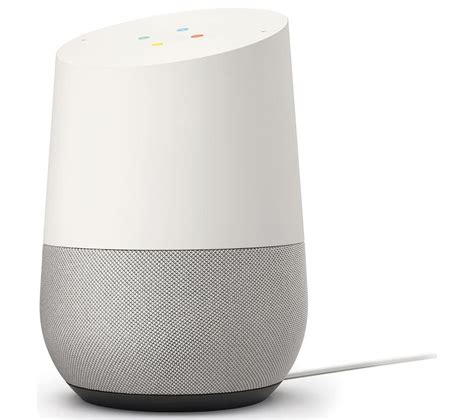 White buy google home white free delivery currys