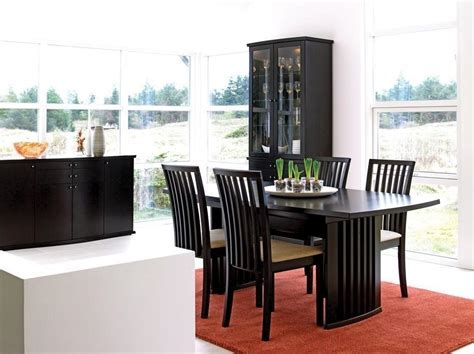 Contemporary Dining Room Sets With China Cabinet #1192