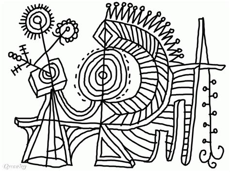 abstract coloring pages pdf abstract coloring page an abstract drawing by pixohammer