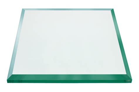 22 glass table top 22 inch square glass table top 1 2 inch bevel