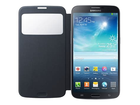 S Cover Galaxy Mega 6 3 I9200 samsung galaxy mega 6 3 i9200 s view cover hoesje