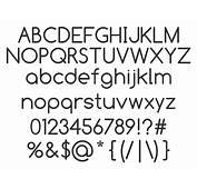 Printable Font Samples Trials Ireland