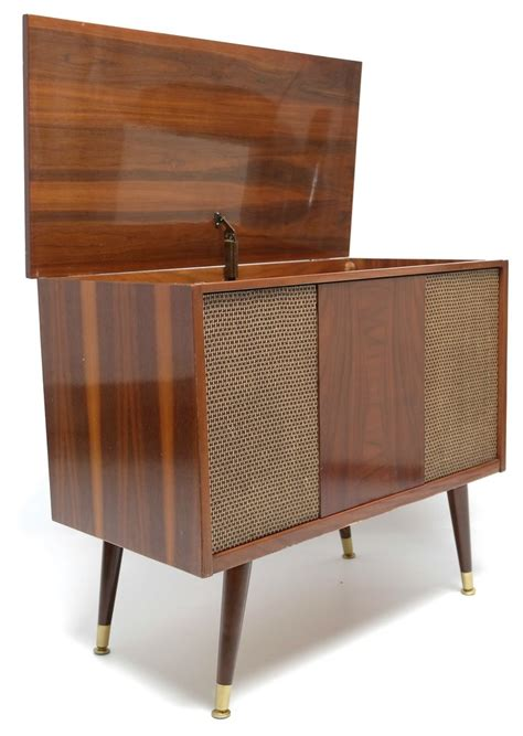 mid century stereo cabinet mid century modern stereo console 60 s mid century