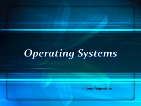 ppt templates for linux operating systems ppt authorstream