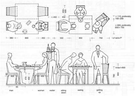 restaurant table layout free neufert table szukaj w google ergonomics pinterest