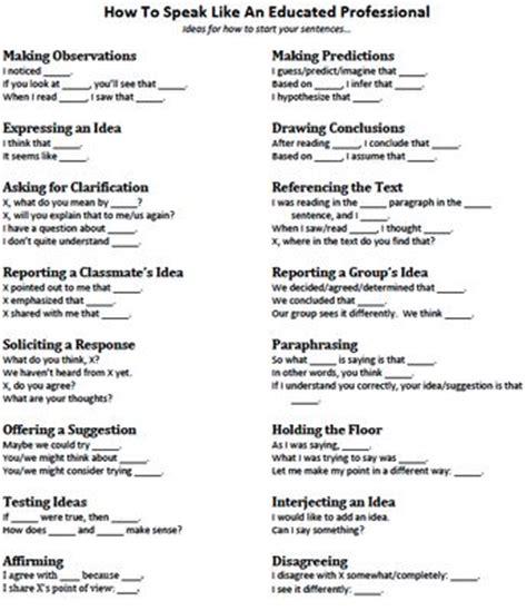 sentence patterns middle school pinterest the world s catalog of ideas
