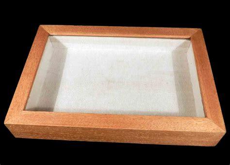 cornici con vetro l arca di no 232 cornice in legno con vetro e tela a22577