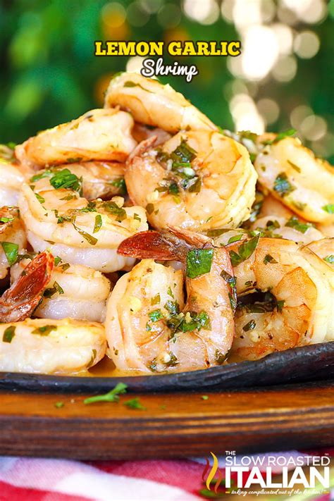 Reader Recipe Shrimp With Garlic And Lemon by Lemon Garlic Shrimp With