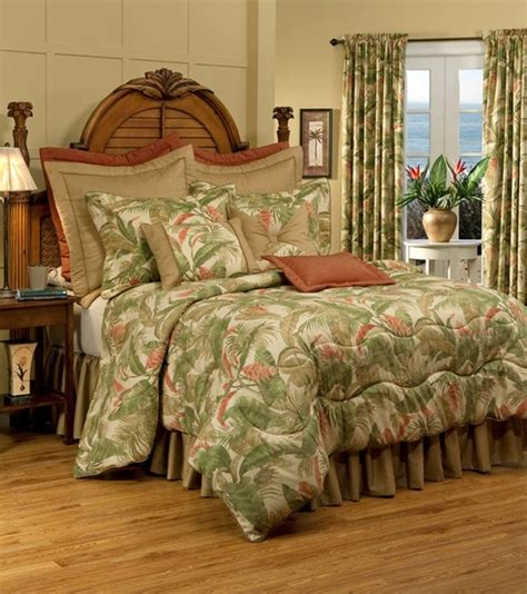 tropical bed linens thomasville at home quot la selva quot bed linens
