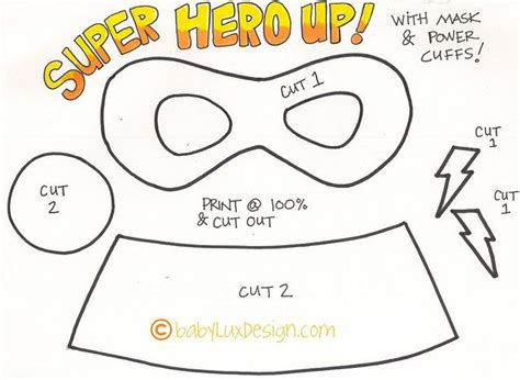 super hero tutorial patterns super hero masks and