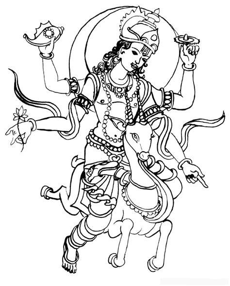 hindu mythology 24 gods and goddesses printable