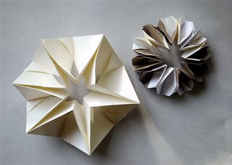 Origami Forms - folded paper forms