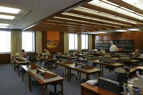 library manuscripts reading room digital collections pictures seselja loui 1948 view of the manuscripts reading room of