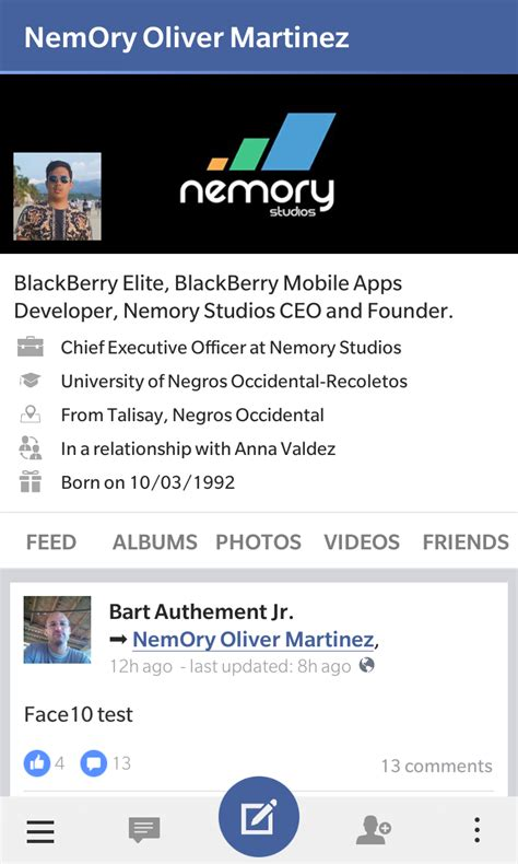 hairstyles facebook app ditch the native blackberry 10 facebook app and give