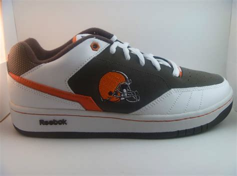 cleveland browns slippers cleveland browns reebok recline ph2 shoes mens sizes 7