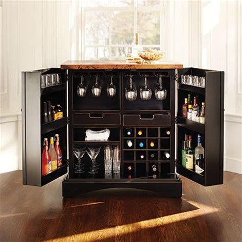 Arhaus Bar Cabinet Wine Bar With Copper Top In Black Arhaus Furniture The Collection Is An Arhaus