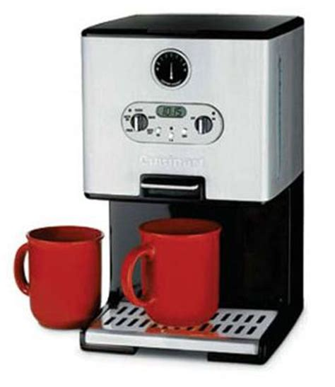 Easy to find cuisinart coffee maker parts is a reason for its popularity