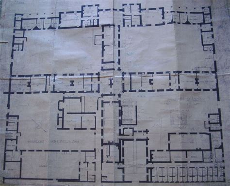 East Wing Floor Plan by The Workhouse In St Asaph Flintshire