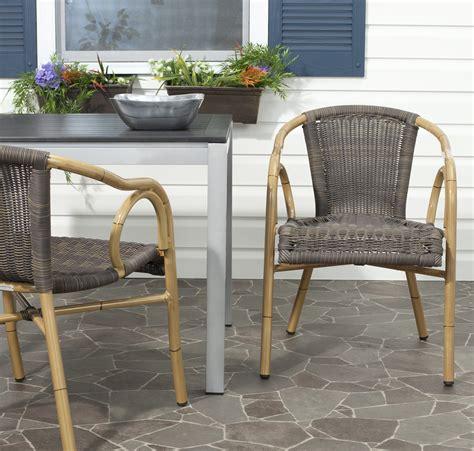 safavieh dagny patio arm chair 2 pk shop your way