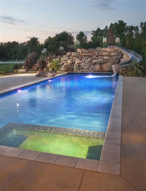 simple swimming pool design image modern creative swimming beautiful modern pool with l e d features spill over