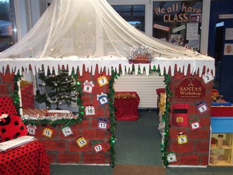 santa workshop cubicles ideas would to make santa s workshop in my classroom winter play