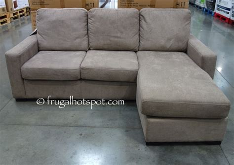 pulaski fabric sofa chaise costco sale pulaski furniture fabric sofa chaise 349 99