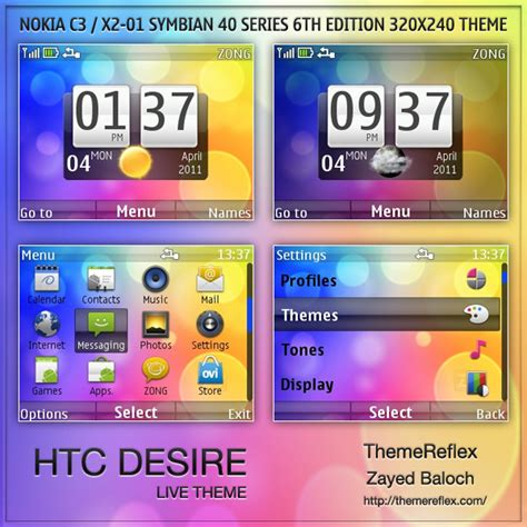live themes for htc desire x htc desire live theme for nokia c3 x2 01 themereflex