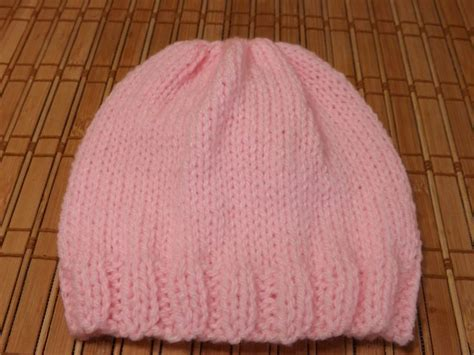basic knitted hat pattern 25 best ideas about knit baby hats on knitted