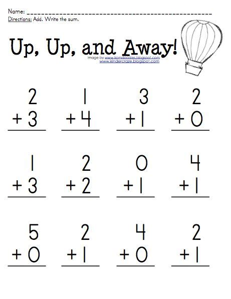 best 25 kindergarten addition worksheets ideas on addition worksheets for