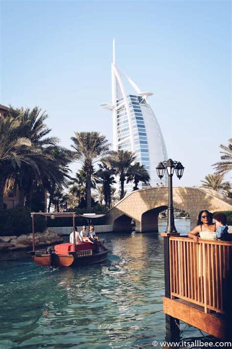 madinat jumeirah boat ride souk madinat jumeirah winter sun escape to dubai itsallbee