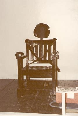 Has Anyone Survived The Electric Chair by Ohio Prisons Executions At Osp